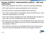 review of ppg13 implementation atkins 185 local authorities