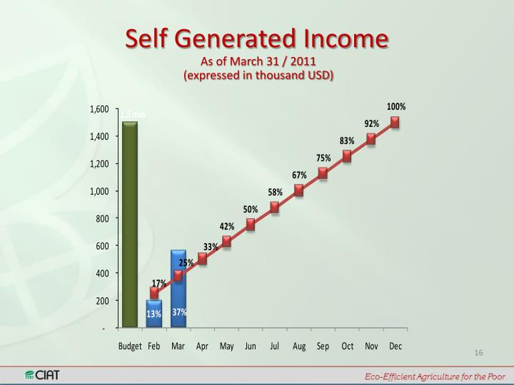 Self Generated Income
