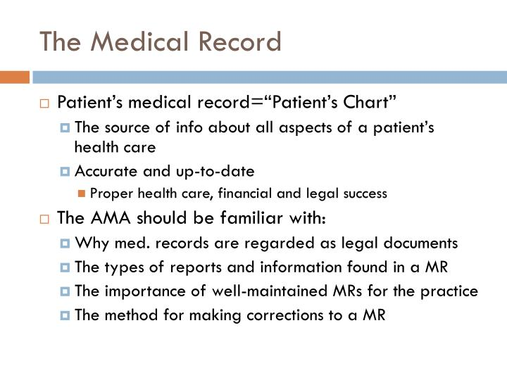 Ppt Patient Medical Records Powerpoint Presentation Id1648021