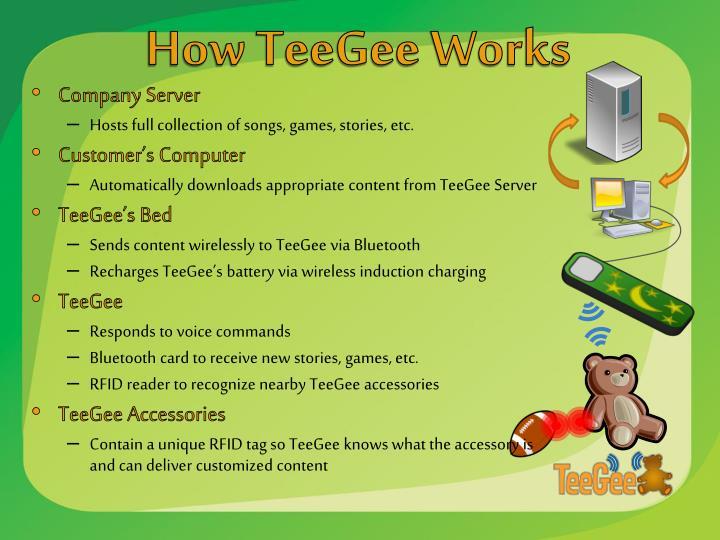 How TeeGee Works