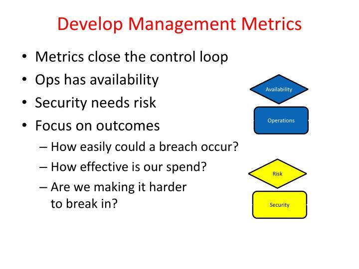 Develop Management