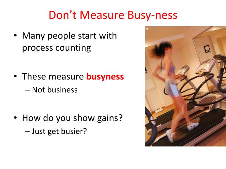 Don't Measure