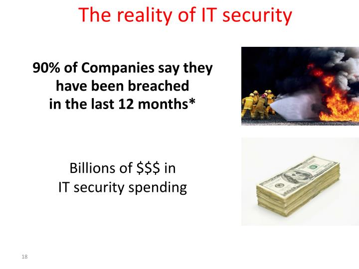 The reality of IT security