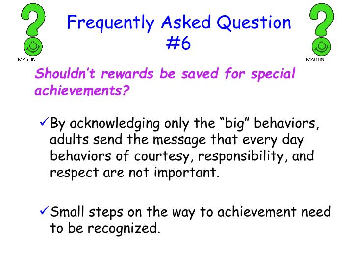 Frequently Asked Question #6