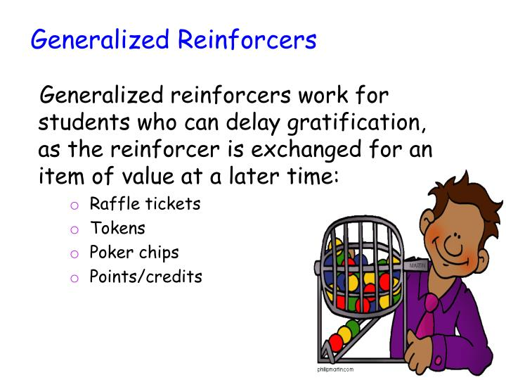 Generalized Reinforcers