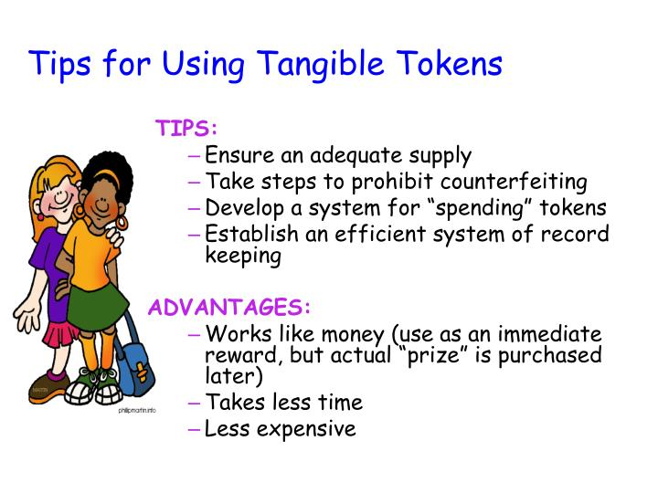 Tips for Using Tangible Tokens