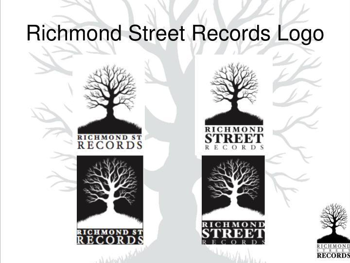 Richmond Street Records Logo