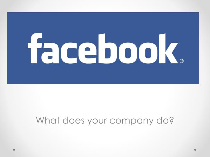what does your company do n.