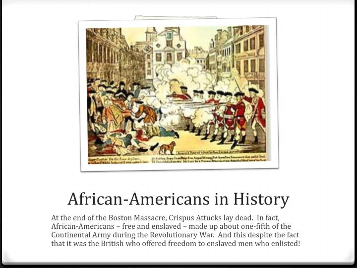 African-Americans in History