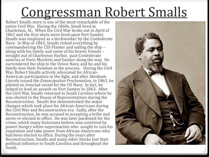 Congressman Robert Smalls
