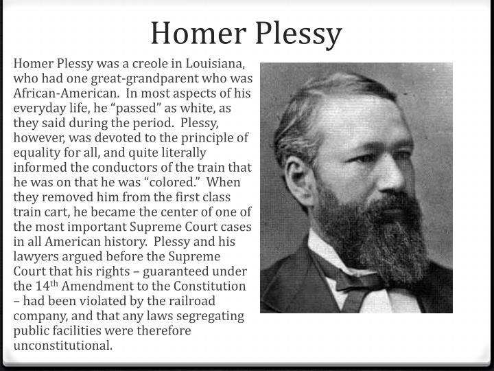 Homer Plessy