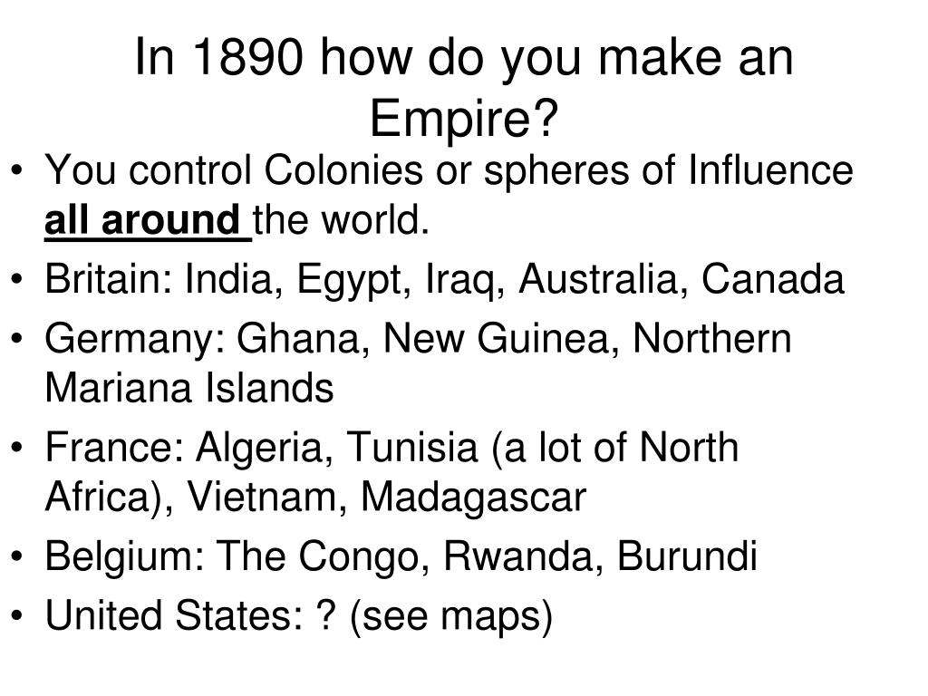 PPT - American Imperialism PowerPoint Presentation, free ...