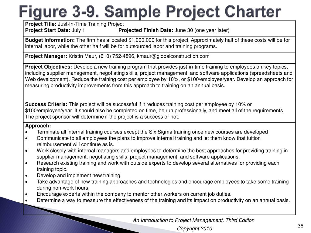 PPT - Chapter 3: Initiating Projects PowerPoint Presentation - ID