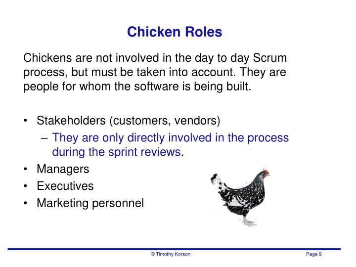 Chicken Roles