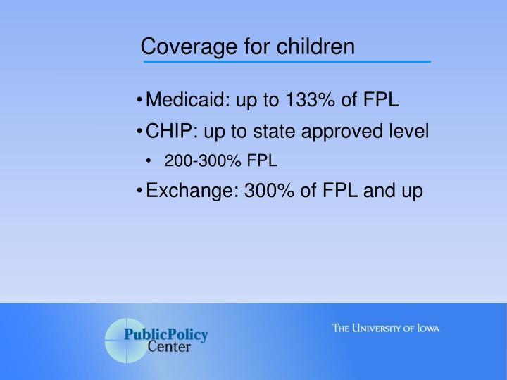 Coverage for children