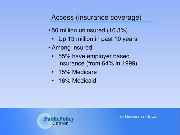 Access (insurance coverage)