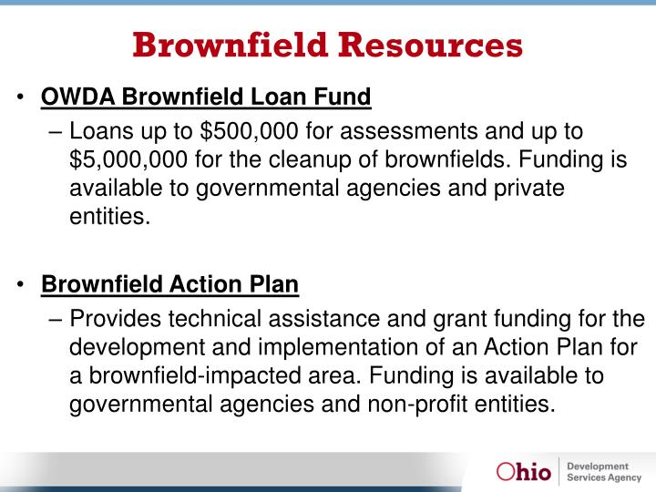 Brownfield Resources