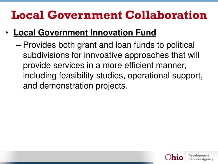 Local Government Collaboration