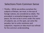 selections from common sense2