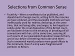 selections from common sense3