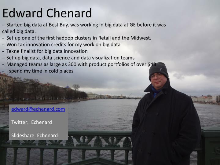 Edward chenard