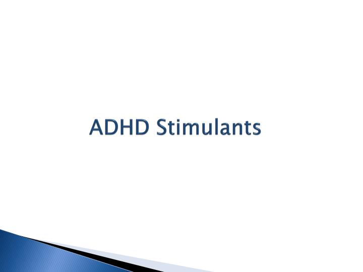 ADHD Stimulants