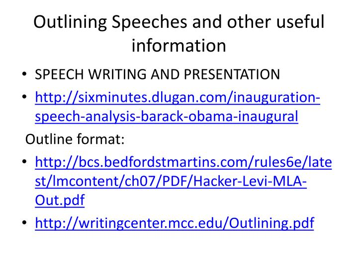 essays of informative speeches
