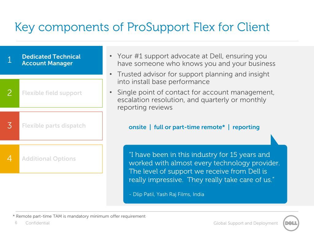 PPT - Dell ProSupport Flex for Client Customer Presentation