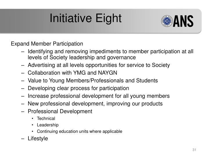 Initiative Eight