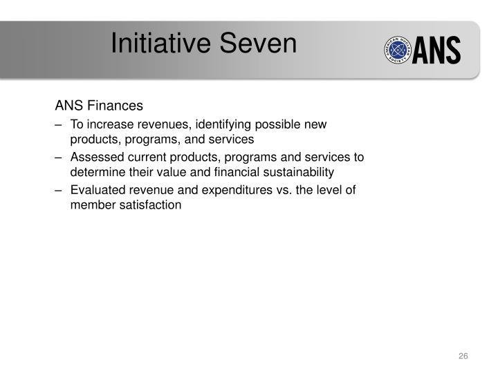 Initiative Seven