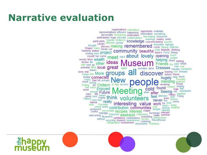 Narrative evaluation