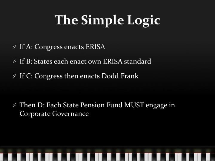 The Simple Logic