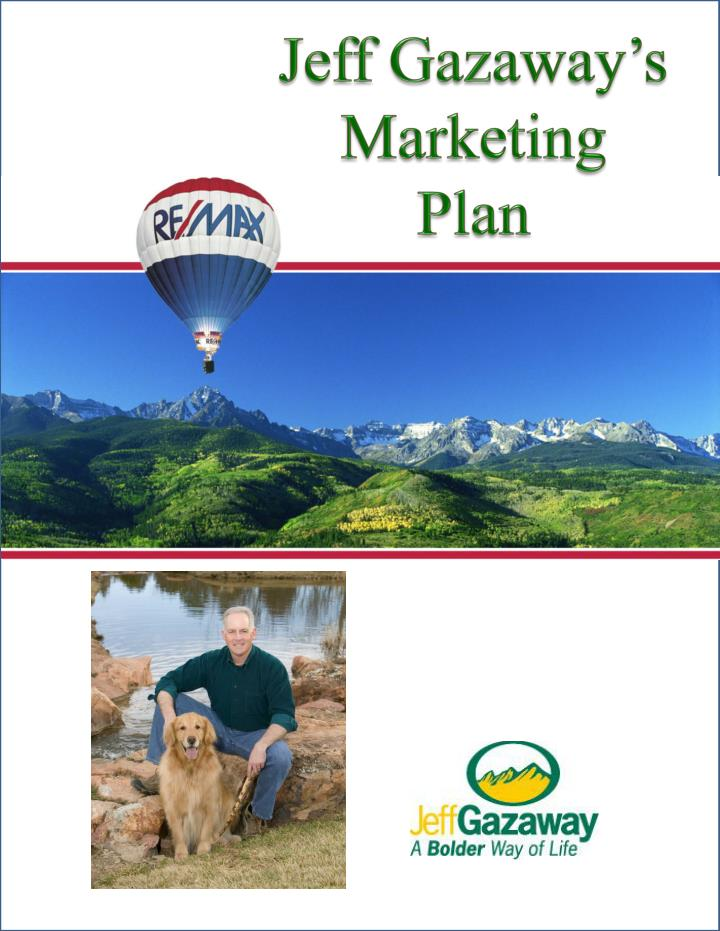 Jeff gazaway s marketing plan