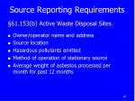 source reporting requirements1