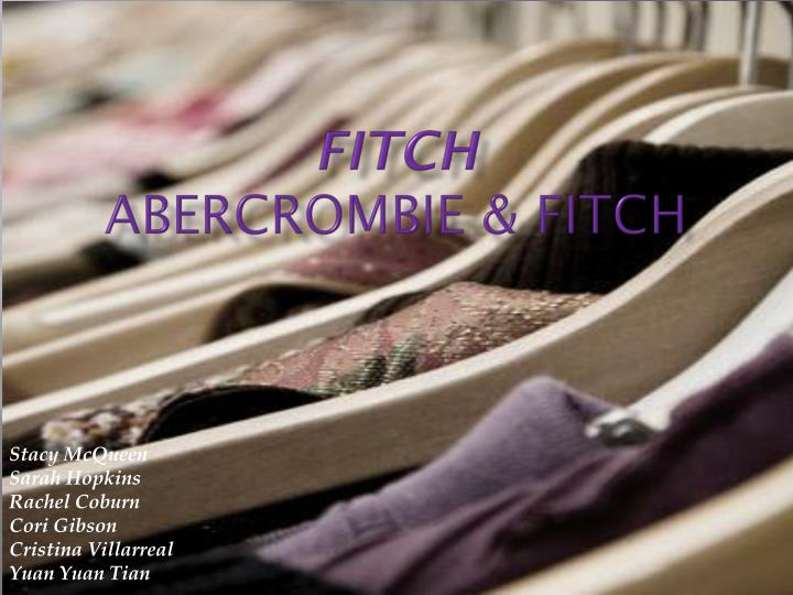 fitch abercrombie fitch n.