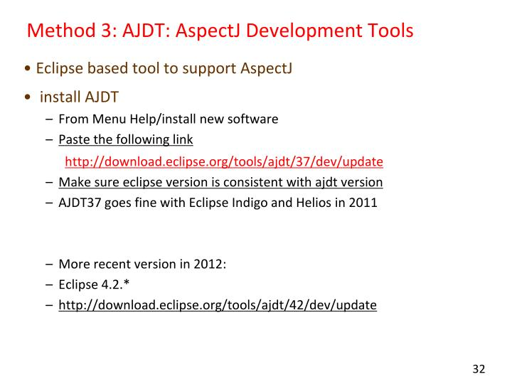 Method 3: AJDT