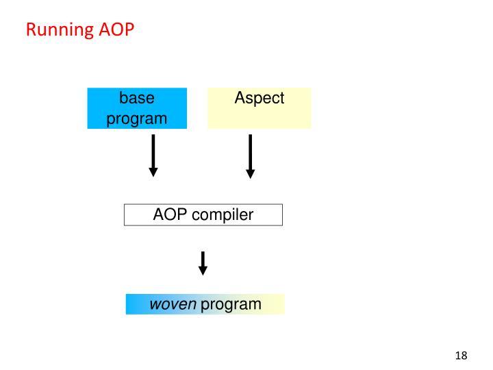 Running AOP