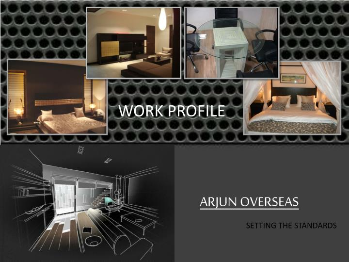WORK PROFILE