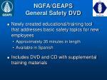 ngfa geaps general safety dvd