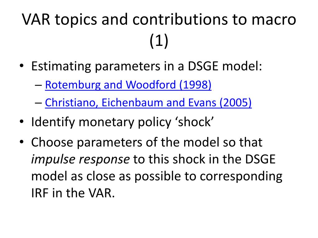 PPT - MSc Time Series Econometrics PowerPoint Presentation