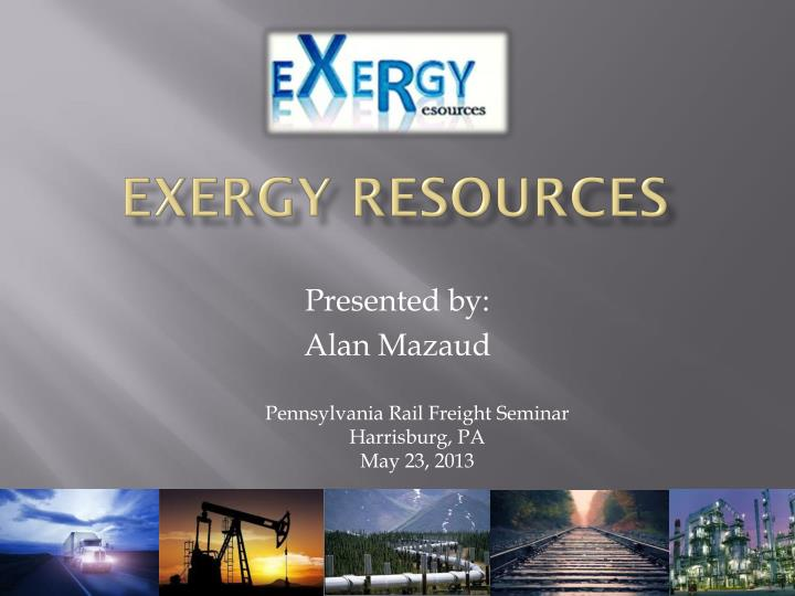 exergy resources n.