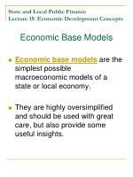 state and local public finance lecture 15 economic development concepts4