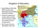 kingdom of macedon