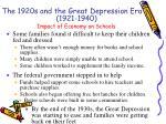 impact of economy on schools1