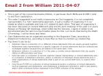 email 2 from william 2011 04 07