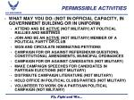 permissible activities1