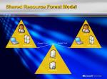 shared resource forest model