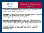 designing assessment methods1