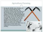 agriculture farming