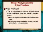 merger analysis and the price premium2